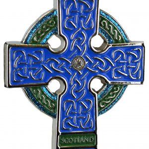 celtic cross - metal boxed dec