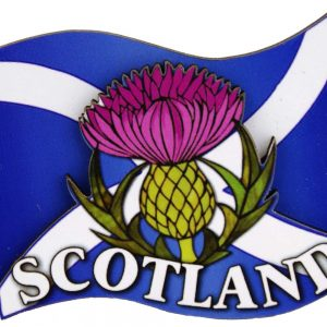1576 flag and thistle 3d magnet