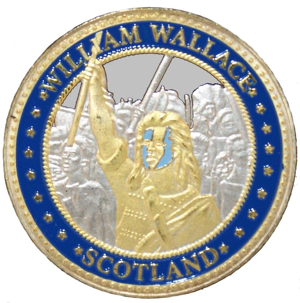 Souvenir Coin William Wallace Heather Gift Company