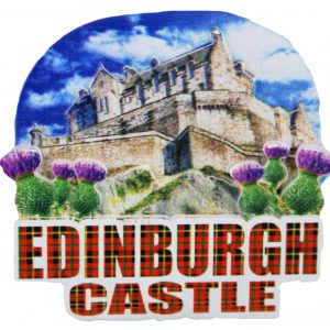 Edinburgh castle 3d